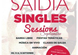 Esto se anima, Saidia Singles – 25 reservados