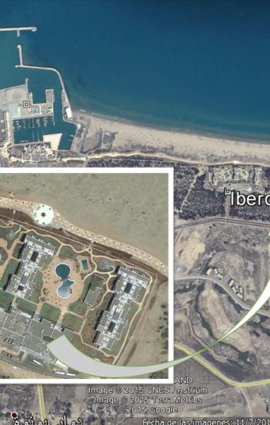 foto satelite iberostar
