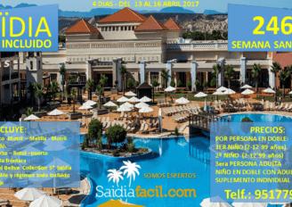 Semana Santa en Saidia desde Motril – 246 €