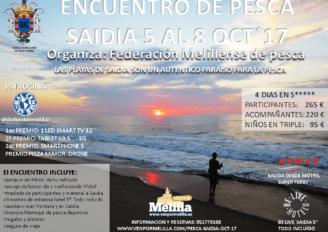 Encuentro de Pesca  Saidia – 5 al 8 OCT.´17