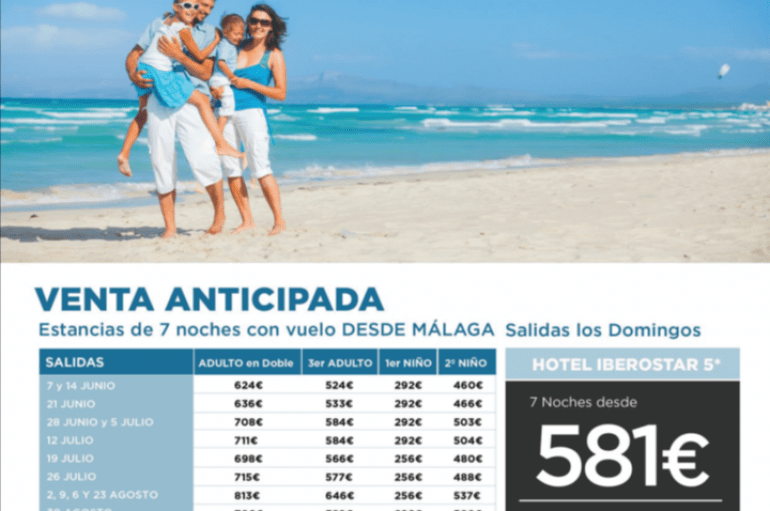 Saidia en avión desde Málaga – hotel Iberostar 5*