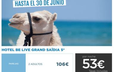 Super oferta para Melillenses – Belive Saidia junio