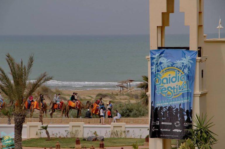 Bandera azul para las playas de Saidia