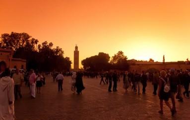 Atardecer en Marruecos, un espectáculo para los sentidos