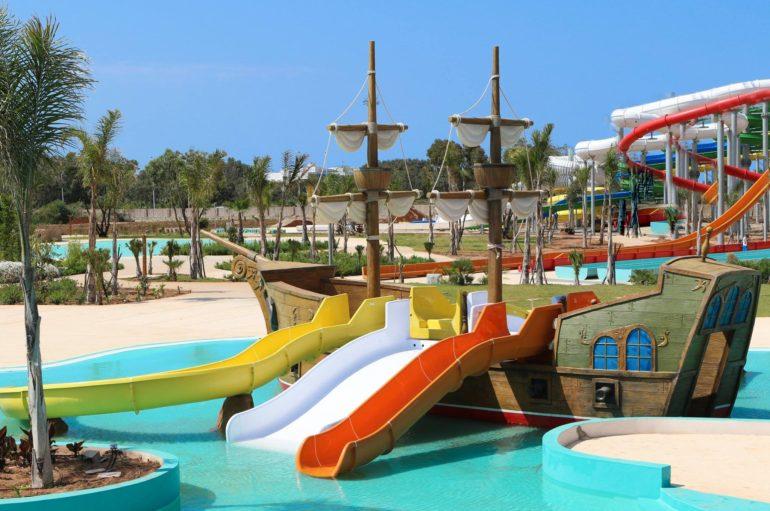 ALPAMARE – el parque acuático de Saidia